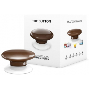 Fibaro The Button - Hnedá